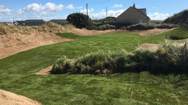 David Minogue creates new short game area at Spanish Point GC