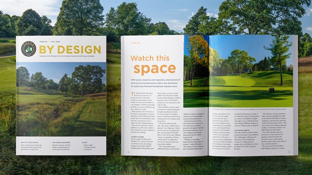 Fall 2020 issue of ASGCA's By Design magazine is out now