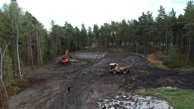 Construction starts on new par three at Nacka