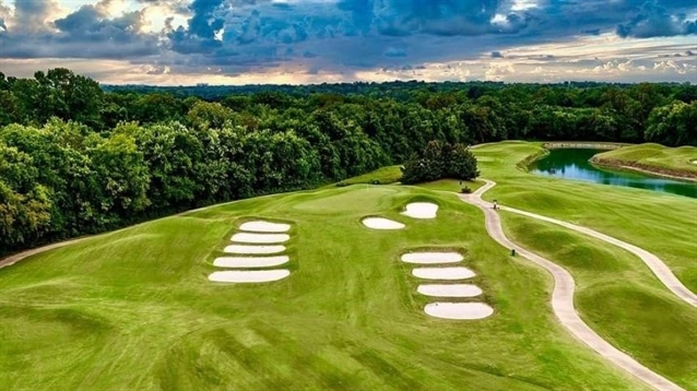 Billy Fuller oversees bunker renovation at Gaylord Springs