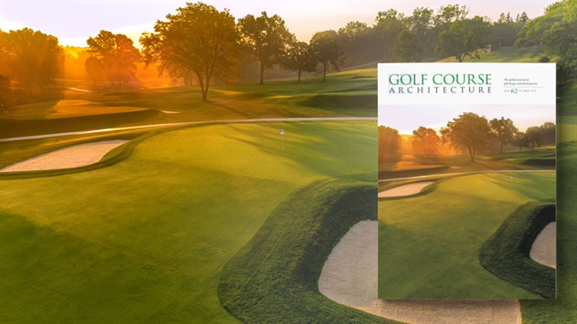The October 2020 issue of Golf Course Architecture is out now!