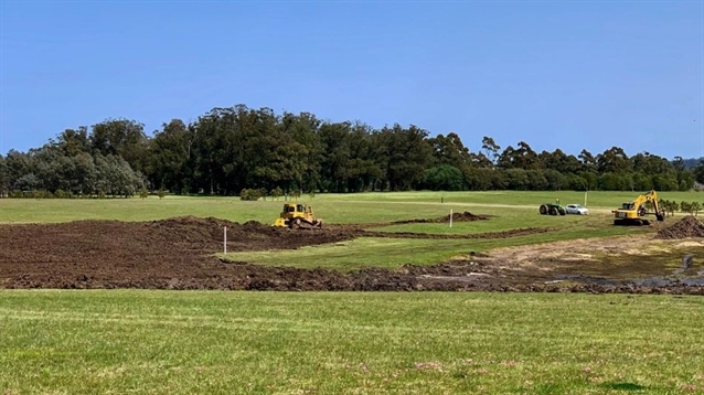 Construction under way on second nine at Las Piedras in Uruguay