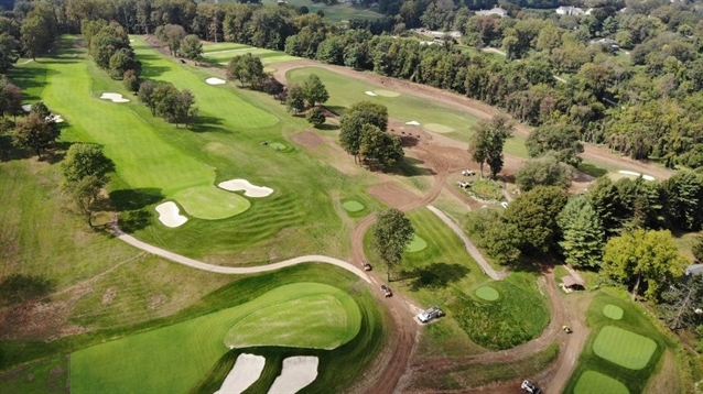 Renovation work progresses on Philadelphia CC nine-holer
