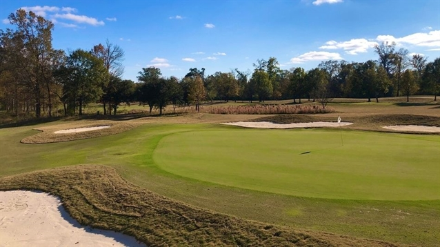 Nathan Crace completes bunker project at Tamahka Trails in Louisiana
