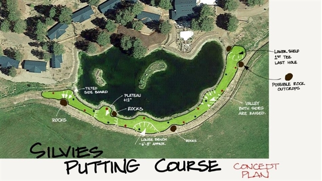 Silvies Valley Ranch starts work on new putting course