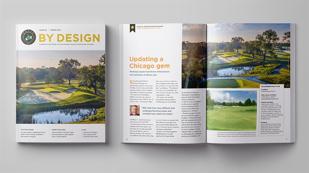 Spring 2021 issue of ASGCA's By Design magazine is out now