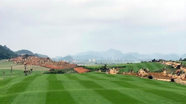 Work turns to back nine on new Nicklaus course in Vietnam