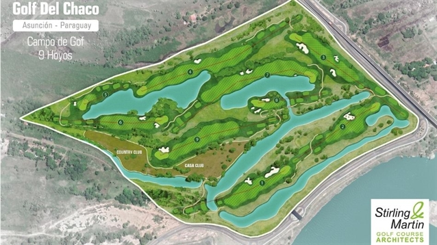 Construction begins on new nine-hole Stirling & Martin course in Paraguay