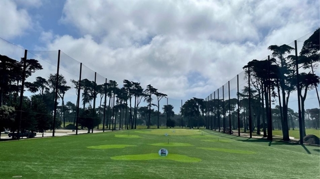 "TPC Harding Park's practice facility now features ""cutting-edge technology"""