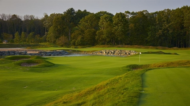 Print Winged Foot East and West Courses Outline