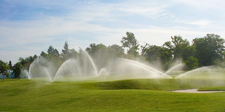 Improve irrigation to improve your course