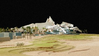 Huge Gehry clubhouse for Saadiyat