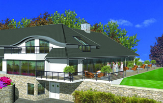 Modry Las starts work on clubhouse
