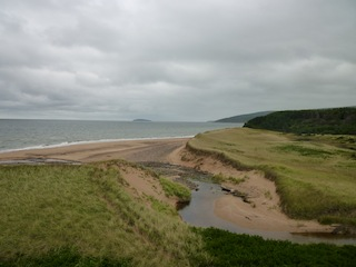 Spectacular site for Cabot Cliffs