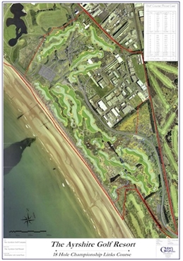 Planning filed for Ayrshire links