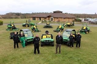 John Deere fleet for The Bedford