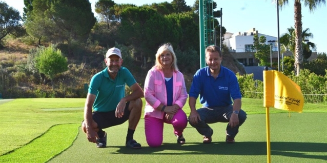 Huxley Golf sets up in Andalucía