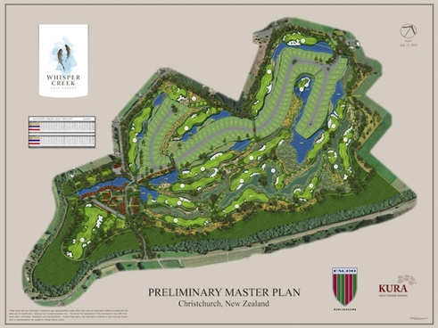 Work underway on new NZ course