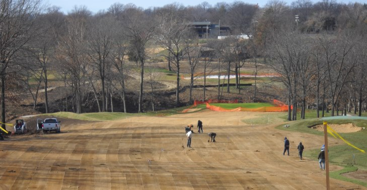 Fry/Straka completes redesign project at Columbia Country Club course