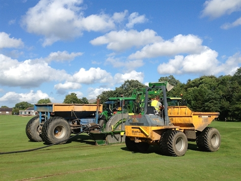 Drainage project is successfully concluded at Clitheroe GC