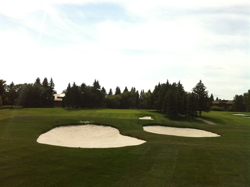 Mingay finishes first phase of Derrick Club course reconstruction