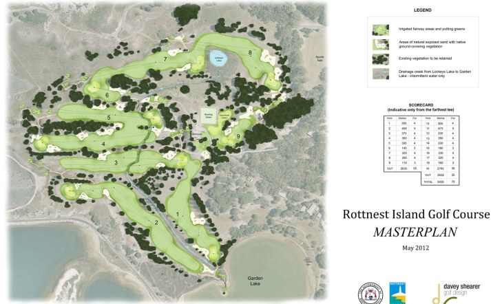 Davey Shearer completes redesign and renovation at Rottnest Island course