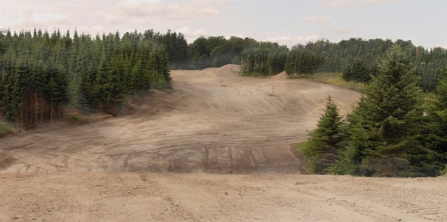 Nine new holes under construction at Langesø Golf Club
