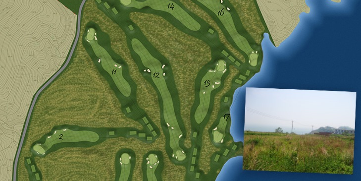 Carrick Design hired for new oceanside 'links-style course' in China