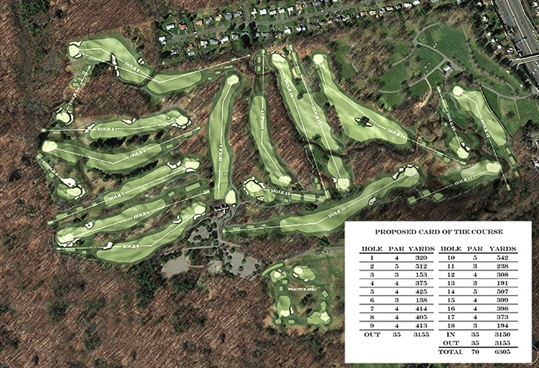 Dusenberry Designs to renovate Keney Park Golf Course