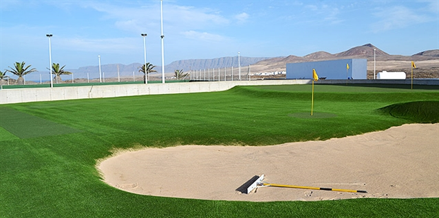 Huxley Golf completes short practice game area at Club La Santa