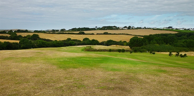 Dramatic changes in progress at Cornish golf course