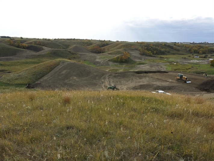Engh completes bulk earthworks at Minot club in North Dakota