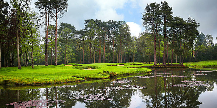 New sixteenth hole opens at Woking Golf Club in Surrey