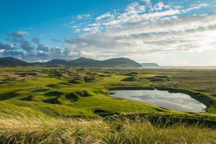 Ballyliffin opens new-look par three seventh on Glashedy course