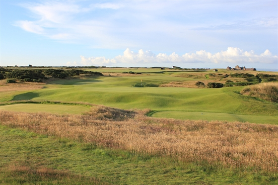 Far-flung sand supplier helps out Porthcawl Senior Open