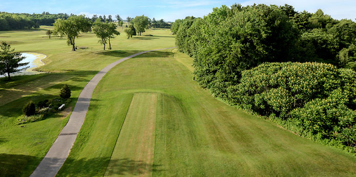 Lower nine at Pease Golf Course reopens following Booth's redesign