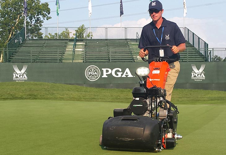 Valhalla team uses Jacobsen equipment ahead of US PGA Championship