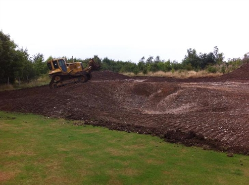 Stiff and Stephens start work on rebuild of 36 hole English pay and play