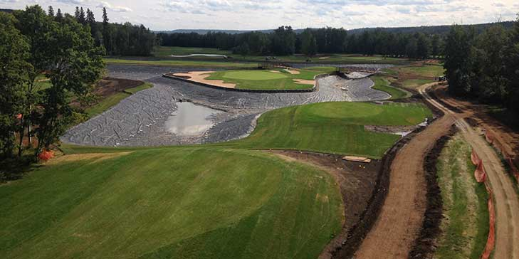 Seven year redesign and renovation project completed at Miskanaw GC