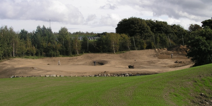 Jeff Howes adds new holes at Rathfarnham Golf Club