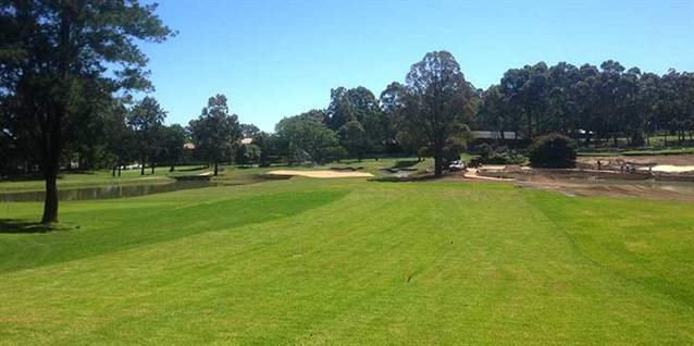 New greens part of major upgrades to North Ryde Golf Club