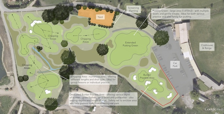 White designs new nine hole facility as English golf centre starts transformation