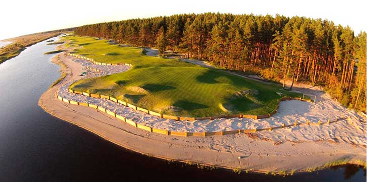 Opening of first links-style course in the Baltic region edges closer
