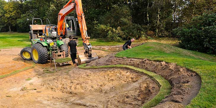 First phase of Ipswich GC bunker renovation completed ahead of schedule