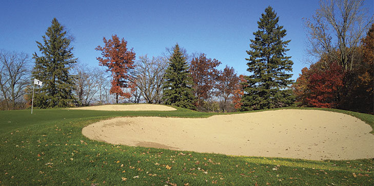 Hazeltine renovates bunkers in preparation for 2016 Ryder Cup