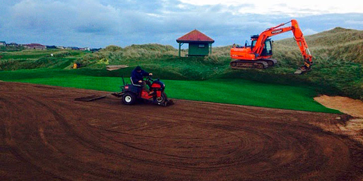 Mackenzie leading improvements to course at Cruden Bay Golf Club