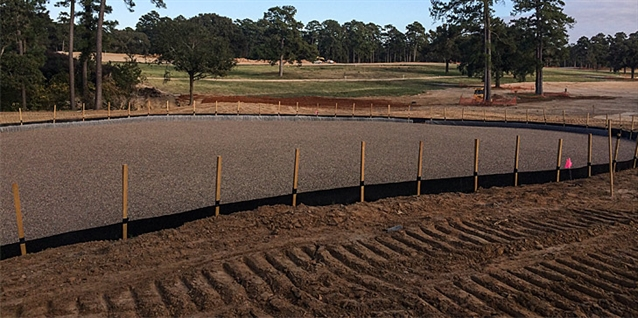 Tiger Woods' first US design at Bluejack National begins to take shape