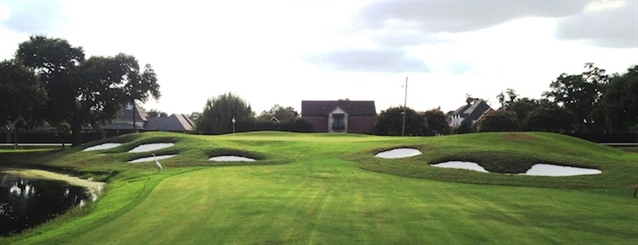 Blume completes bunker renovation at classic-era club in Louisiana