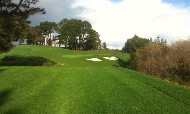 Colt's lost tenth green is rebuilt at Real Golf Club de Pedreña in Spain
