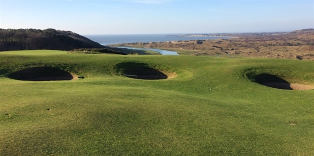 Southerndown GC improves bunkering with EcoBunker construction method